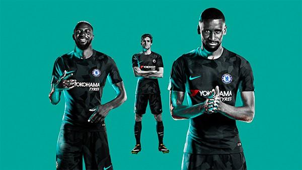 «Челси», «Ман Сити» и «Тоттенхэм» представили третью форму на сезон-2017/18