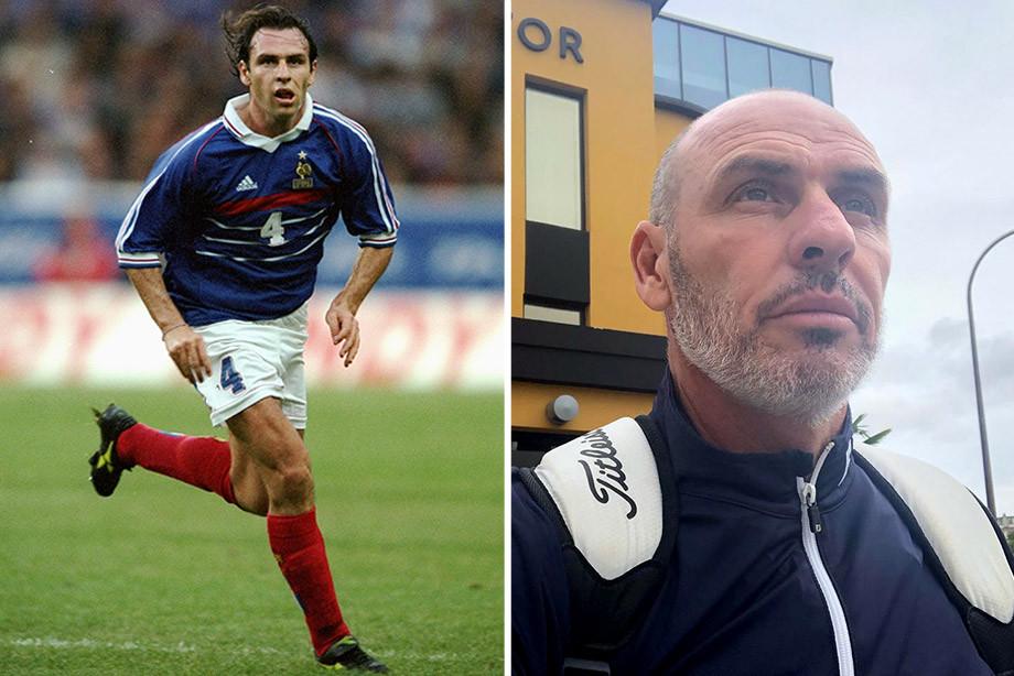 Франция – Россия – 2:3, отбор к Евро-2000, где сейчас игроки сборной Франции