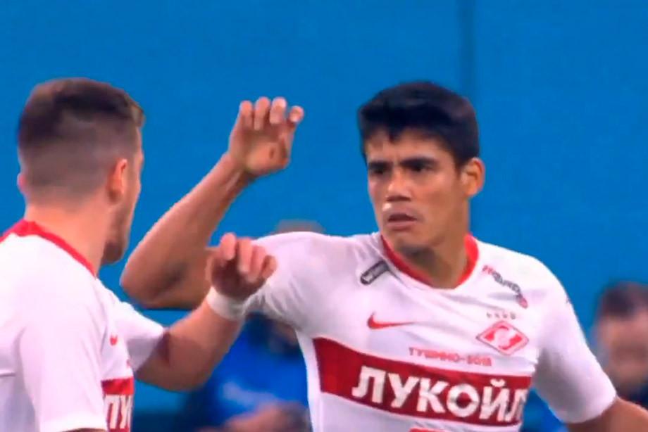 Мельгарехо и Джано сцепились на поле в матче с «Зенитом»