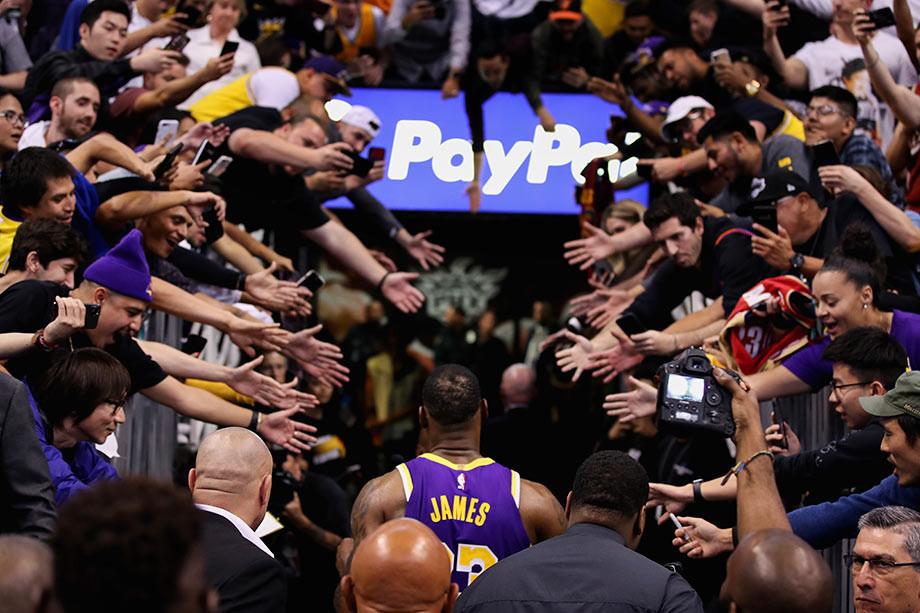 Леброн Джеймс установил феноменальный рекорд НБА