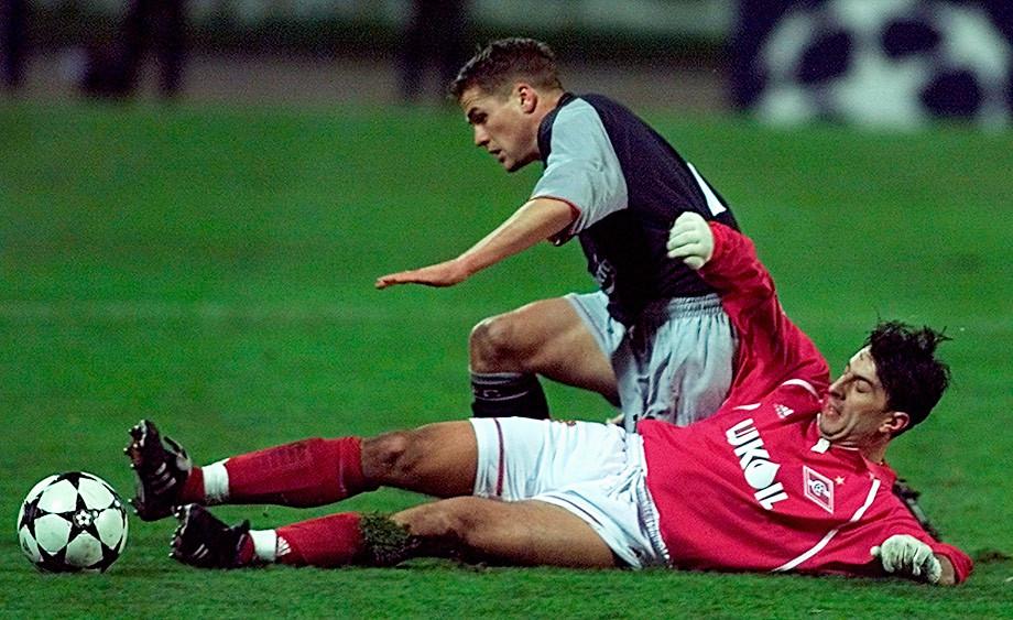 18 лет назад «Спартак» опозорился в Лиге чемпионов. Как это было