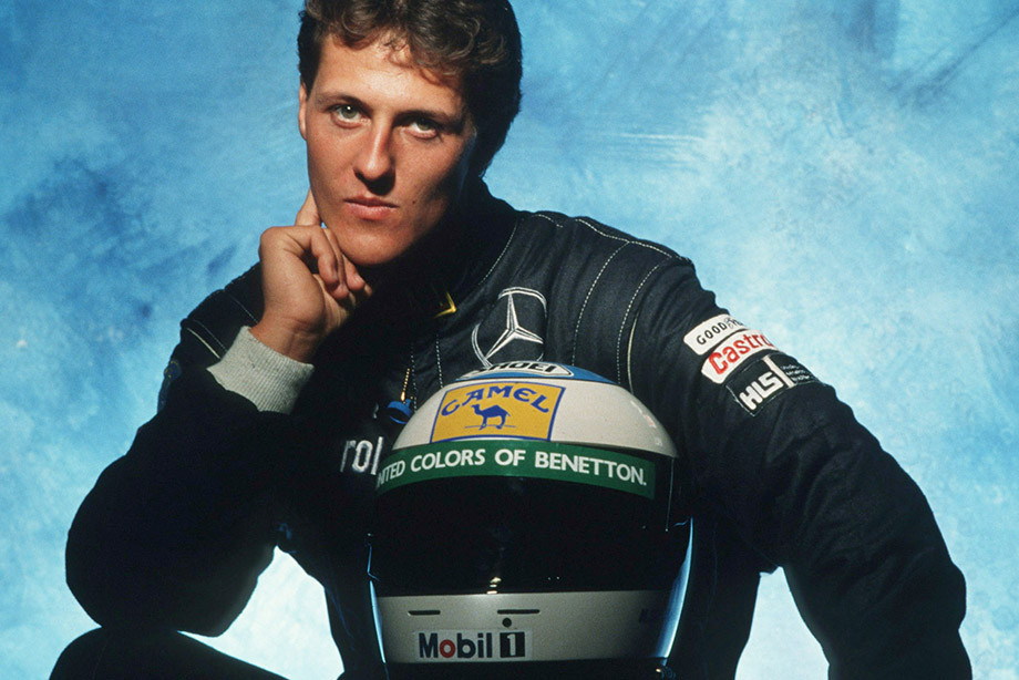 Михаэль Шумахер, 1991 год.