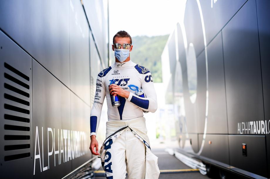 Даниил Квят на Гран-при Штирии