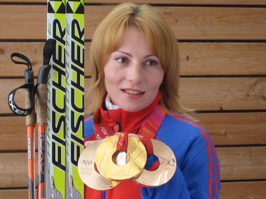 Альбина Ахатова и её туринские медали