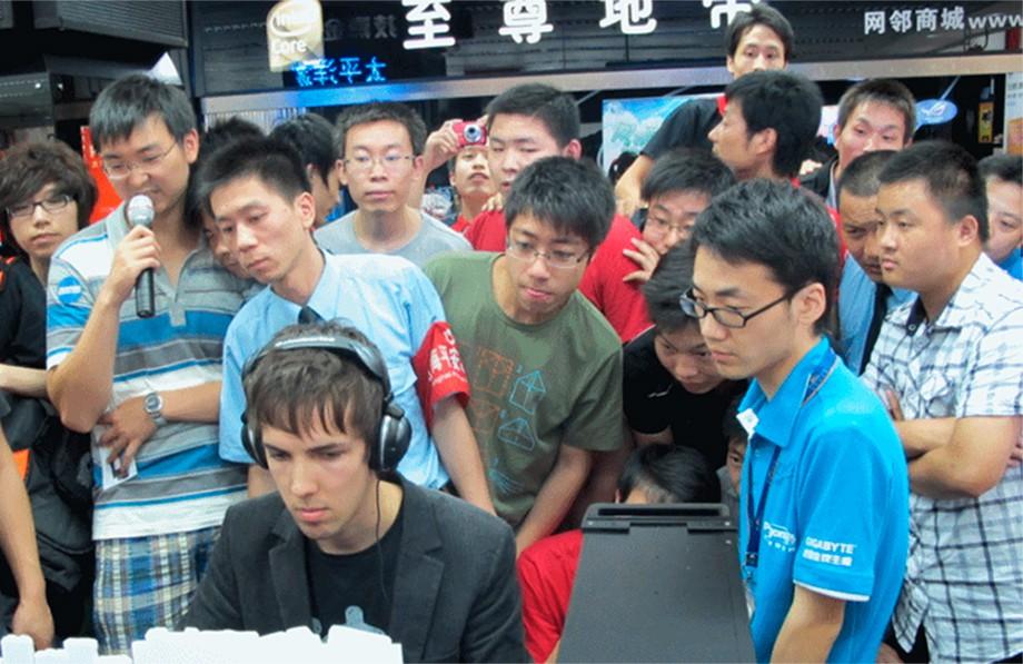 Grubby и китайские фанаты