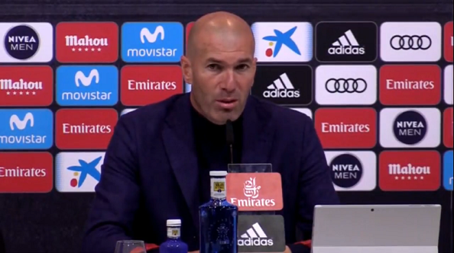 Зидан объявил о своём уходе из «Реала»
