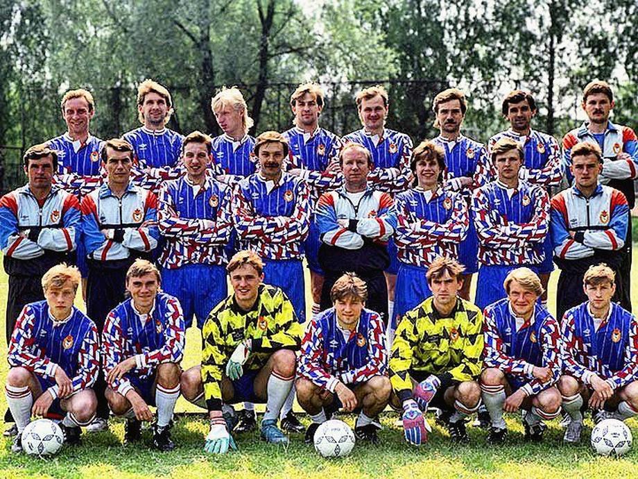 ЦСКА первой половины сезона-1991