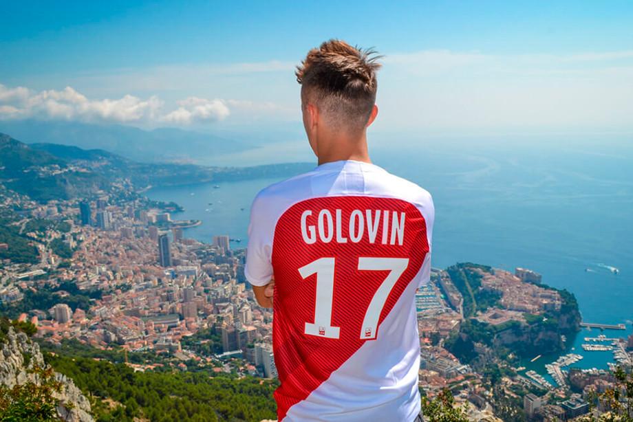 Александр Головин в Монако
