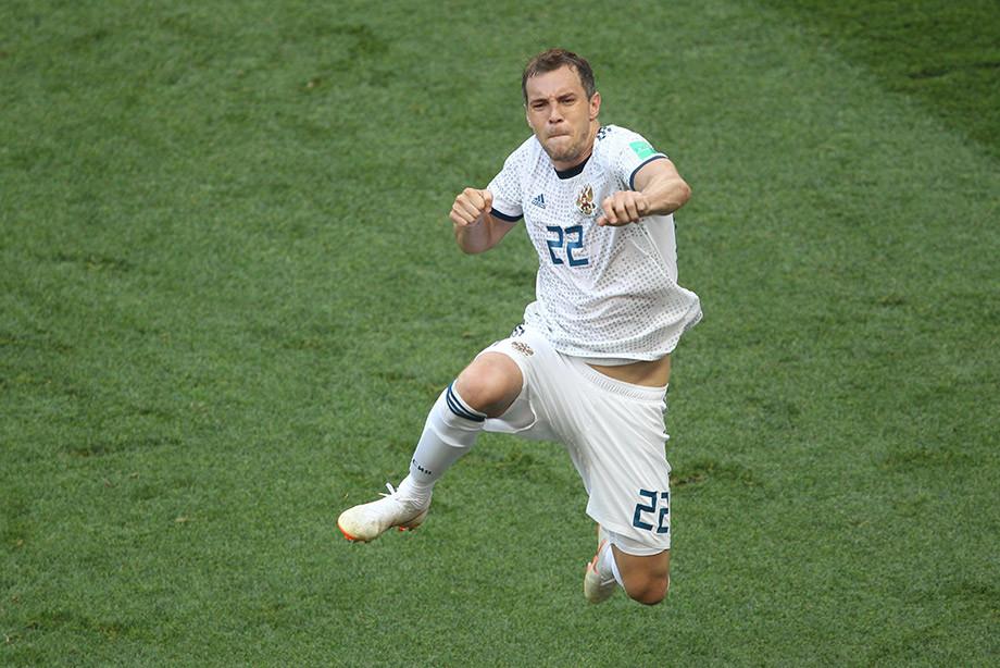 Артём Дзюба, сборная России