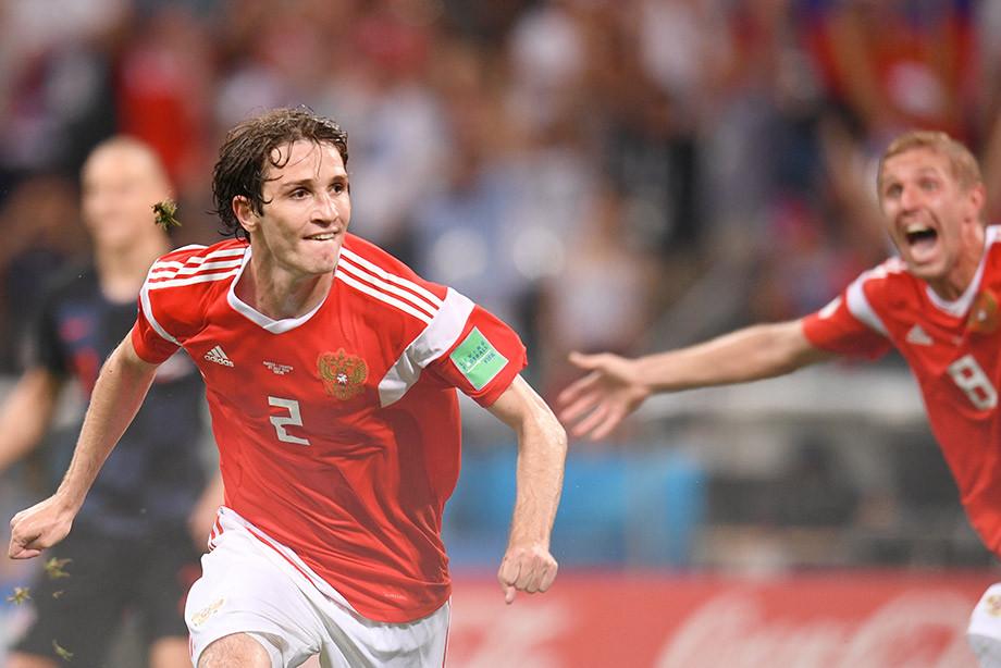 Марио Фернандес, сборная России