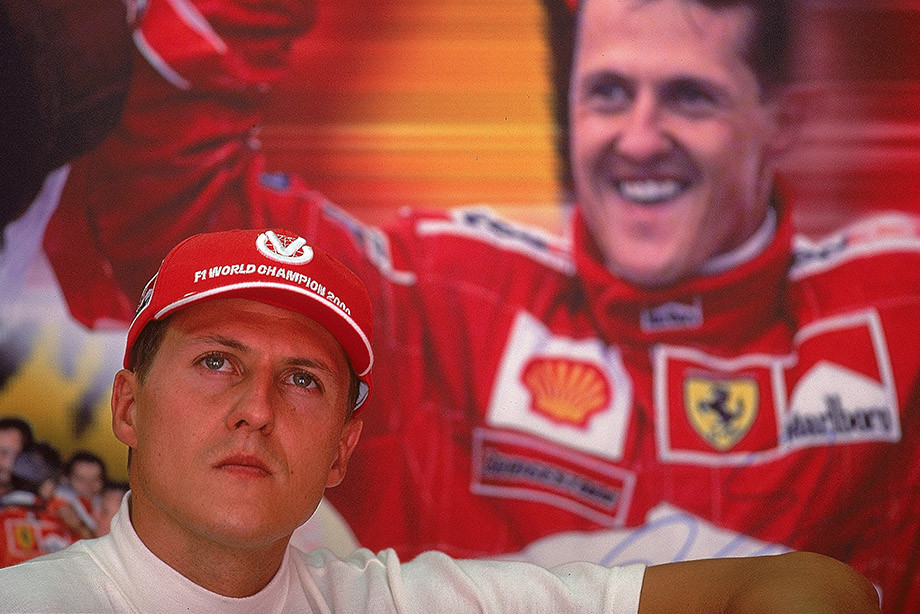 Михаэль Шумахер на Гран-при Малайзии-2000.