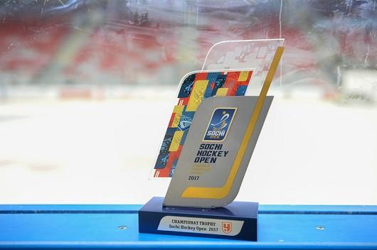 Выбери лучшего игрока Sochi Hockey Open – 2017