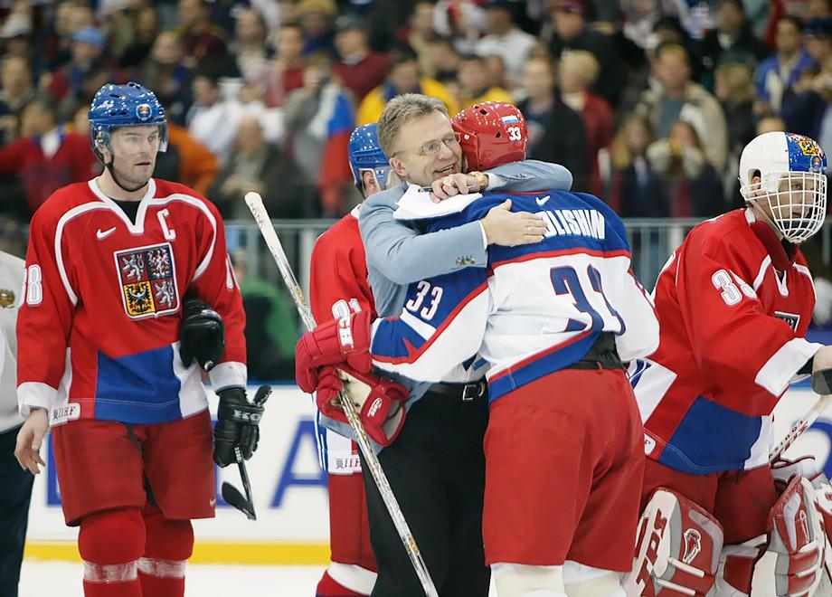Тренеры сборной России на Олимпиадах. От Тихонова до Знарка