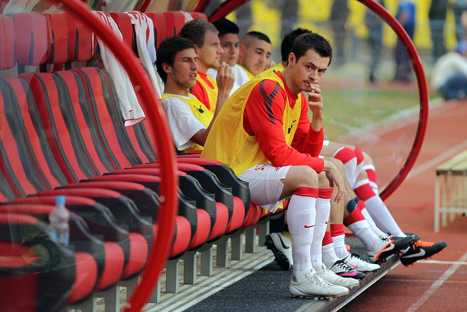 Динияр Билялетдинов (на переднем плане)