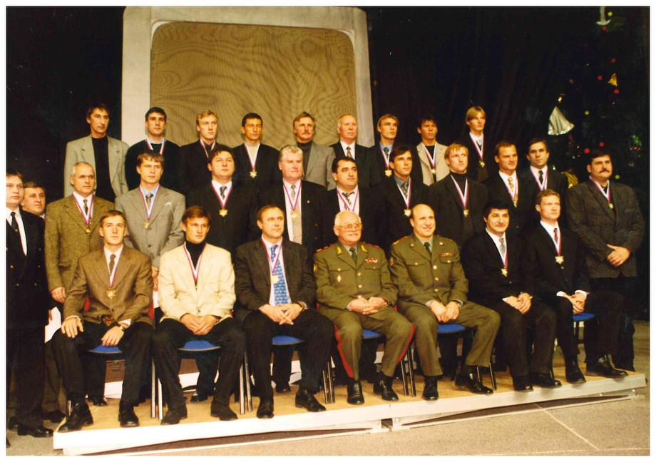ЦСКА-1998 – серебряный призёр чемпионата России