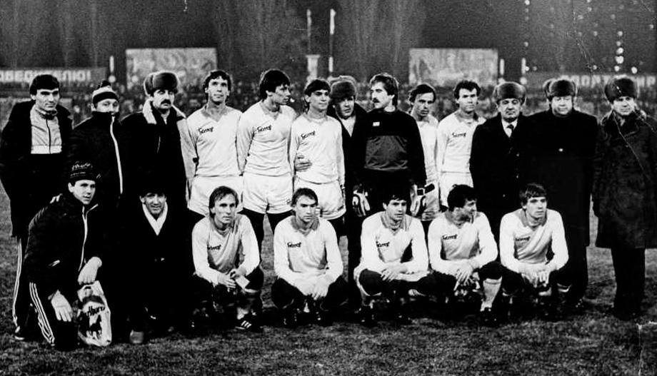 «Днепр» — бронзовый призер сезона-1985