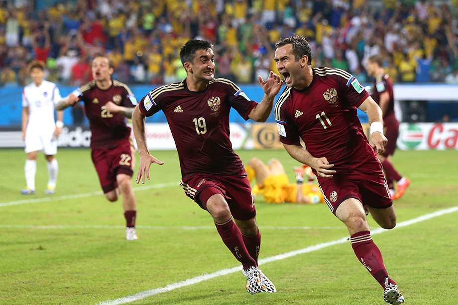 Александр Самедов и Александр Кержаков