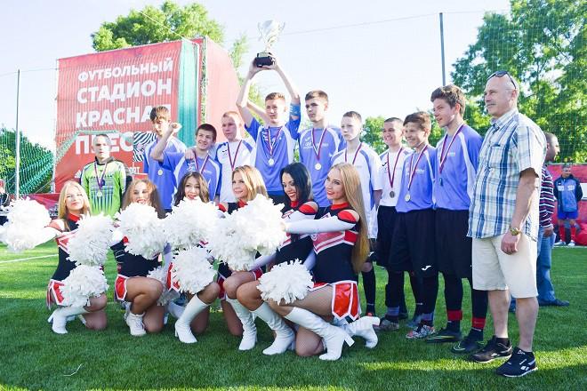 На стадионе «Красная Пресня» прошла «Репетиция Кубка конфедераций»