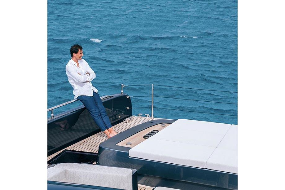 Новая яхта Рафаэля Надаля за 5 миллионов евро, фото- и видеоэкскурсия