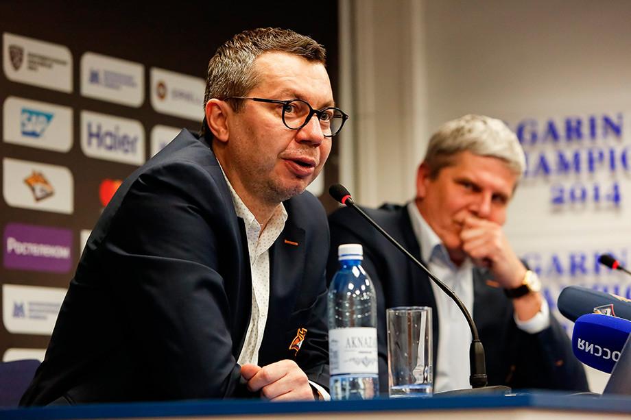 Илья Воробьёв и Сергей Ласьков