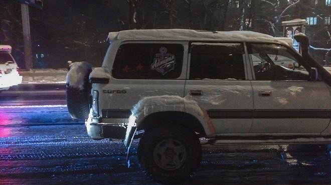 Минское «Динамо» отменило тренировку во Владивостоке из-за снегопада
