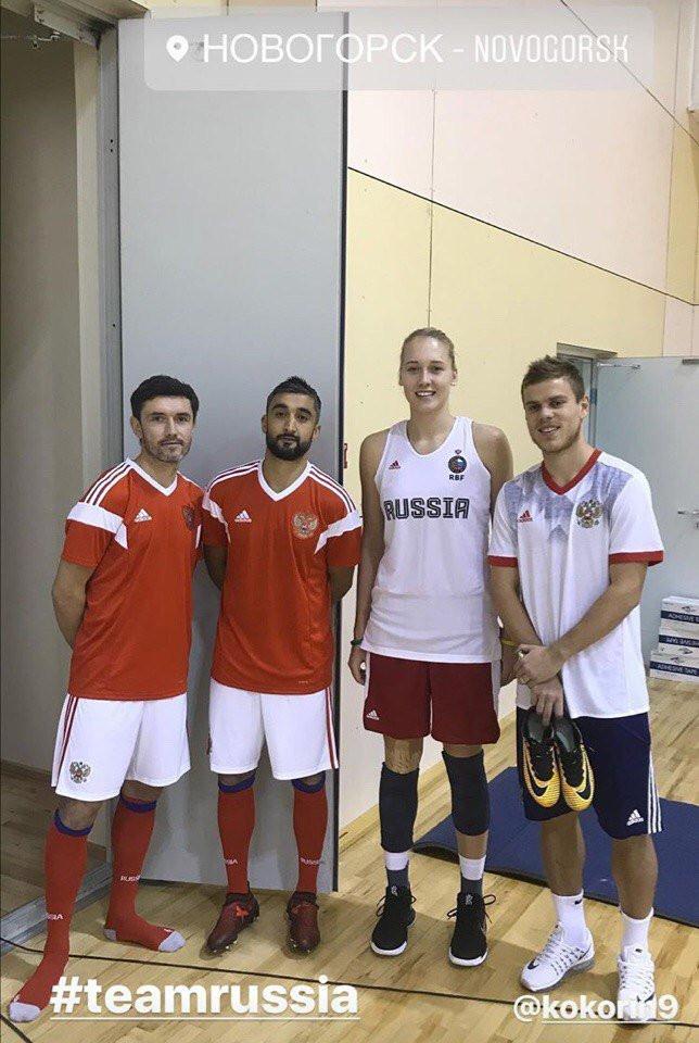 Красота дня — центровая сборной России Елизавета Шабанова