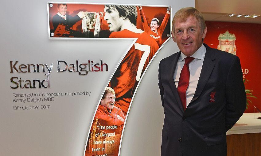 «Ливерпуль» переименовал трибуну «Энфилда» вчесть Далглиша