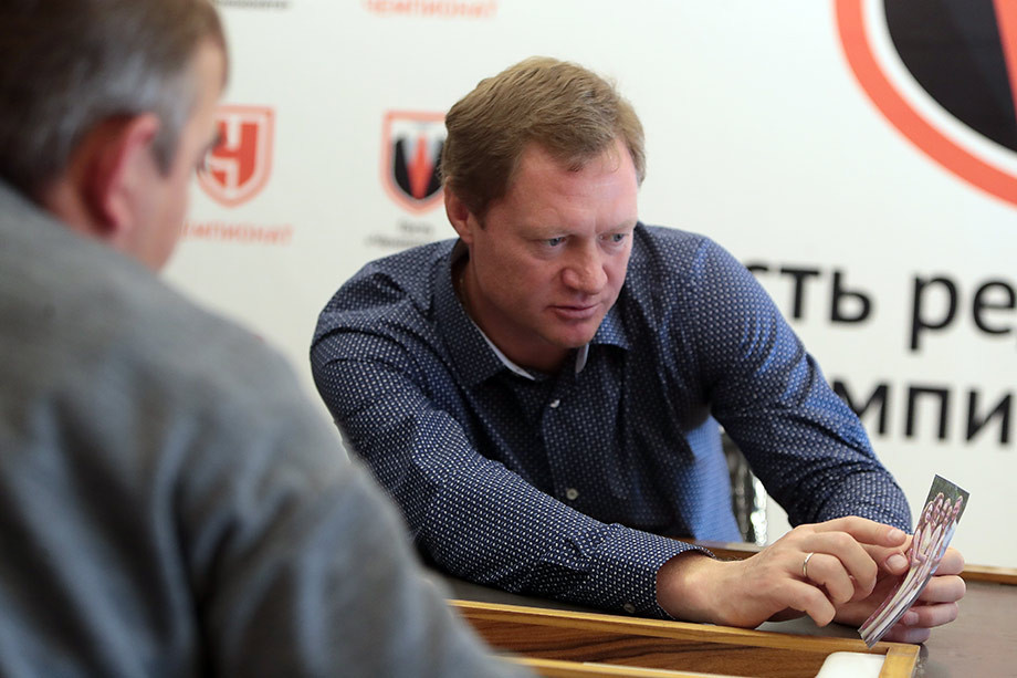 Евгений Варламов в редакции «Чемпионата»