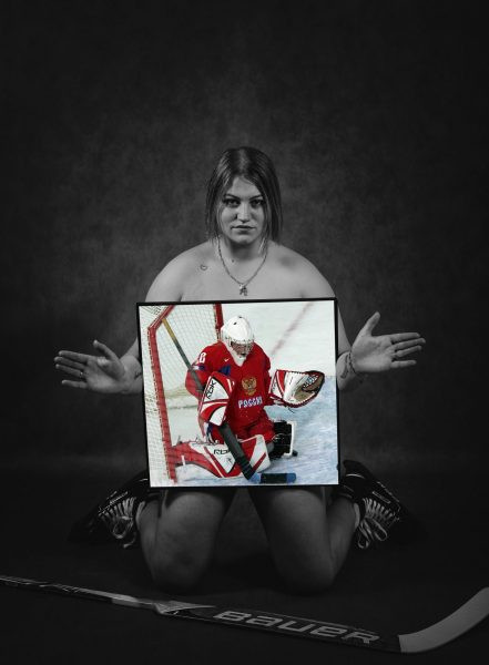 Хоккеистка Надежда Морозова