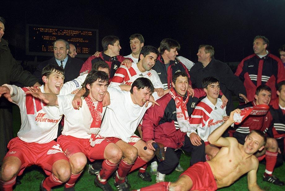 Где сейчас игроки «Спартака», выигравшие чемпионат России-1996: детсад Ярцева