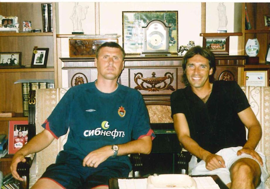 Валерий Минько и Олег Корнаухов