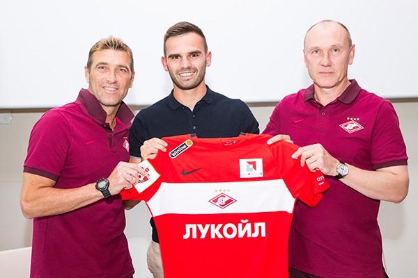 Марко Петкович стал игроком «Спартака»