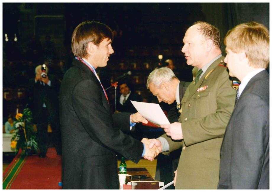 Почётная грамота для защитника Корнаухова