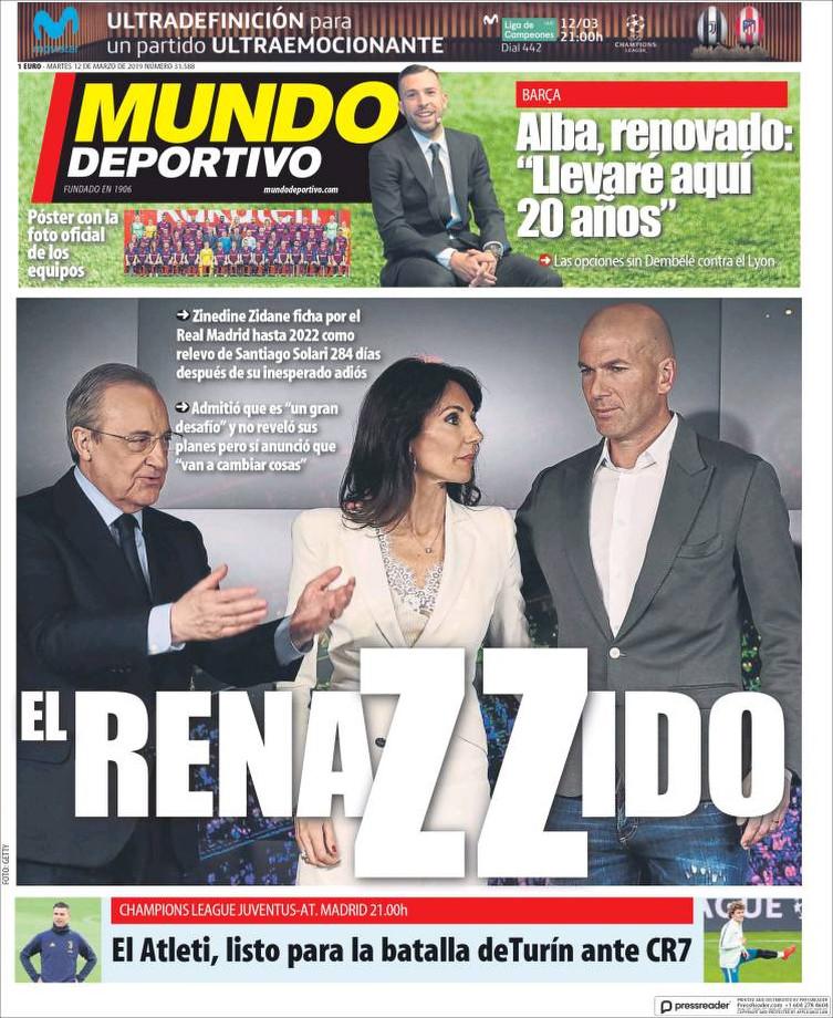 Как Испания отреагировала на возвращение Зидана. Спойлер — все в шоке