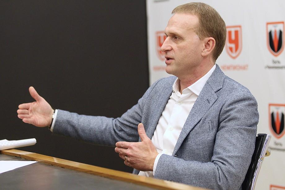 Андрей Соколов в гостях у «Чемпионата»