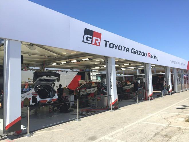 Сервисная зона Toyota Gazoo Racing WRT