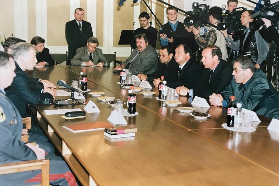 Червченко. Романцев и Мейтин на приёме у Грызлова