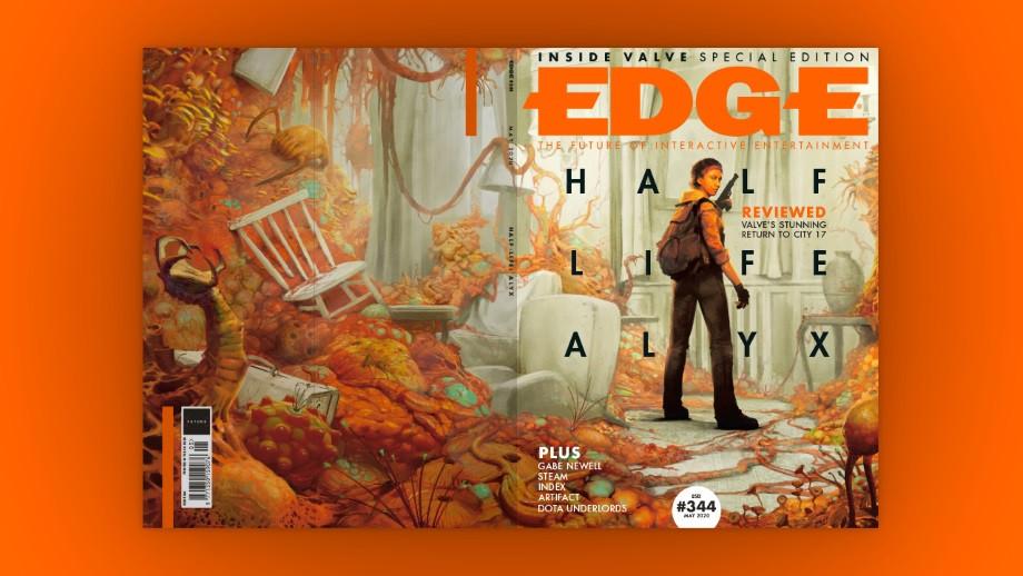 Half-Life Alyx на обложке майского номера журнала Edge