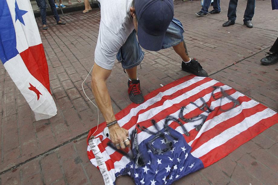 Антиамериканские протесты в Панаме