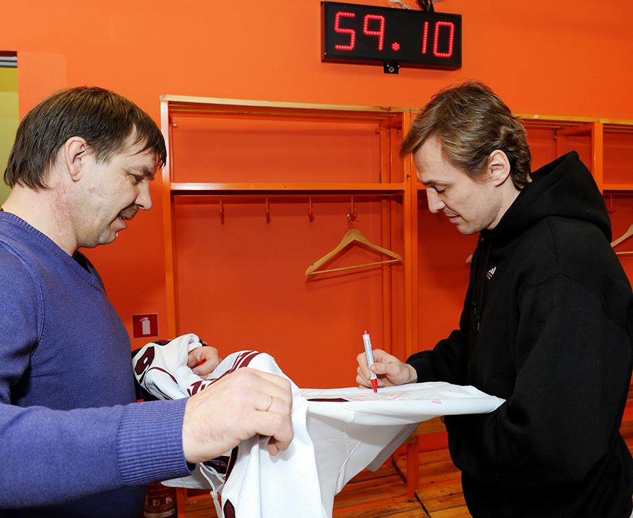 Сергей Фёдоров и Олег Знарок