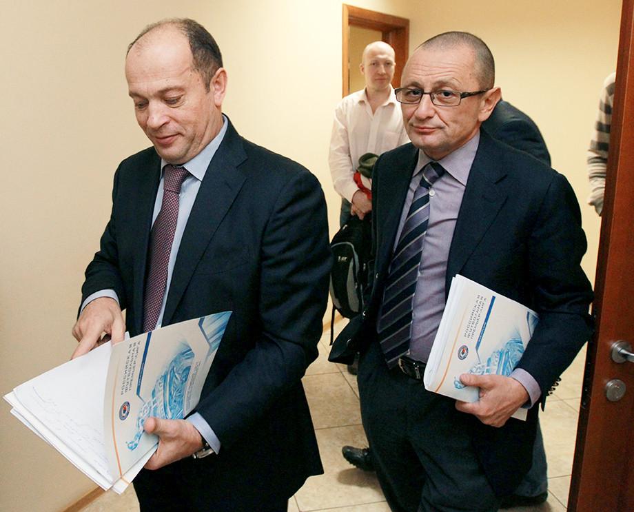 Сергей Прядкин и Александр Мейтин