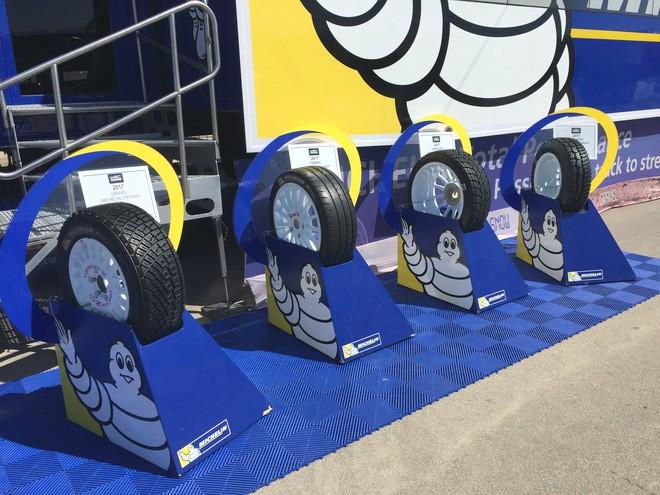 Ассортимент покрышек Michelin для WRC — составы для гравия, асфальта и снега со льдом