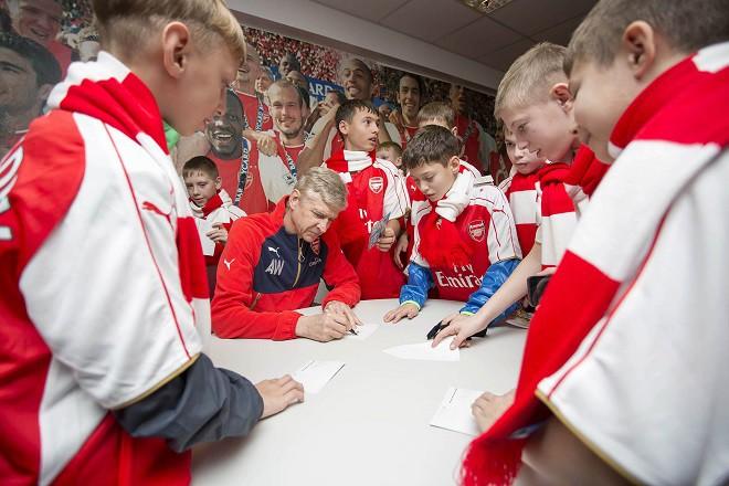 Победители турнира среди детей-сирот побывают на базе «Арсенала» в Лондоне