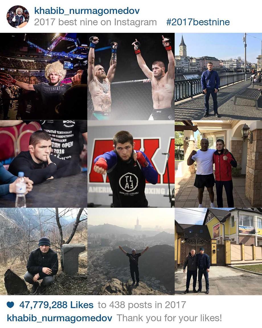 Нурмагомедов vs Макгрегор: битва «инстаграмов»