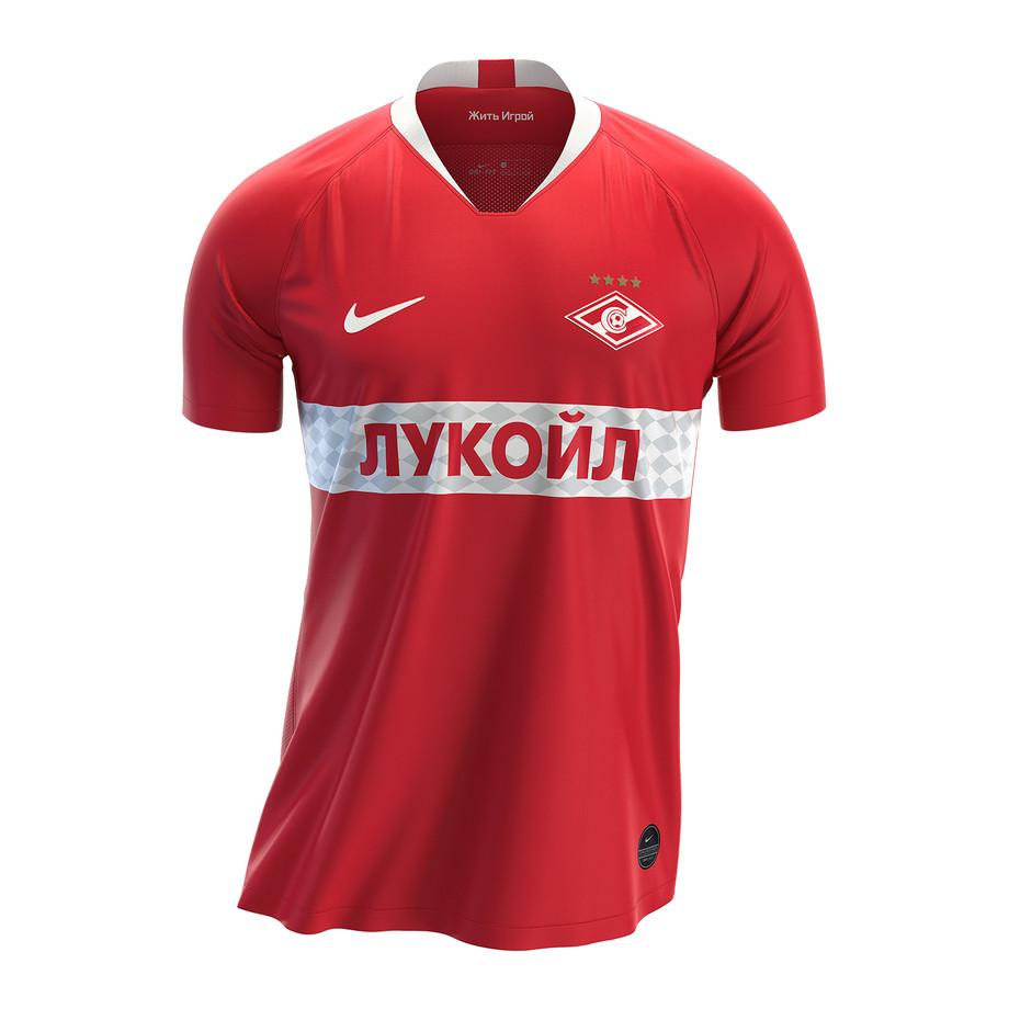 Домашняя форма «Спартака» в сезоне 2019/2020