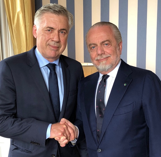 «Наполи» объявил о назначении Анчелотти на пост главного тренера