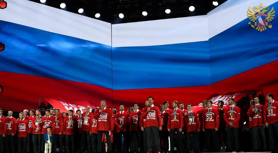 «Думаем о следующей Олимпиаде». Хоккеисты хотят ещё одно олимпийское золото