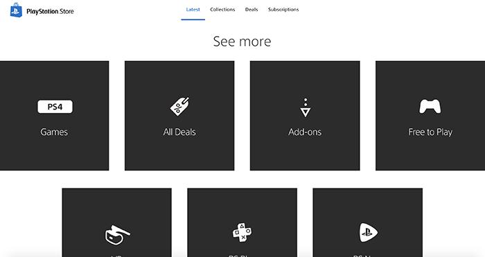 В Сети появились скриншоты обновлённого PlayStation Store