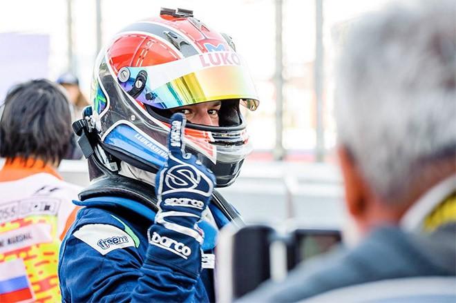 Подиум первой гонки в Сочи