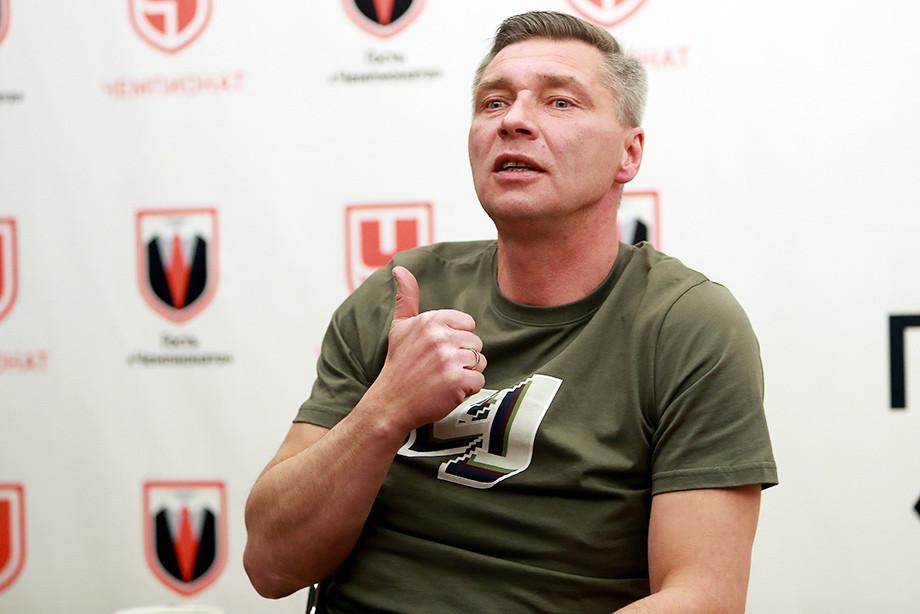 Сергей Овчинников в гостях у «Чемпионата»